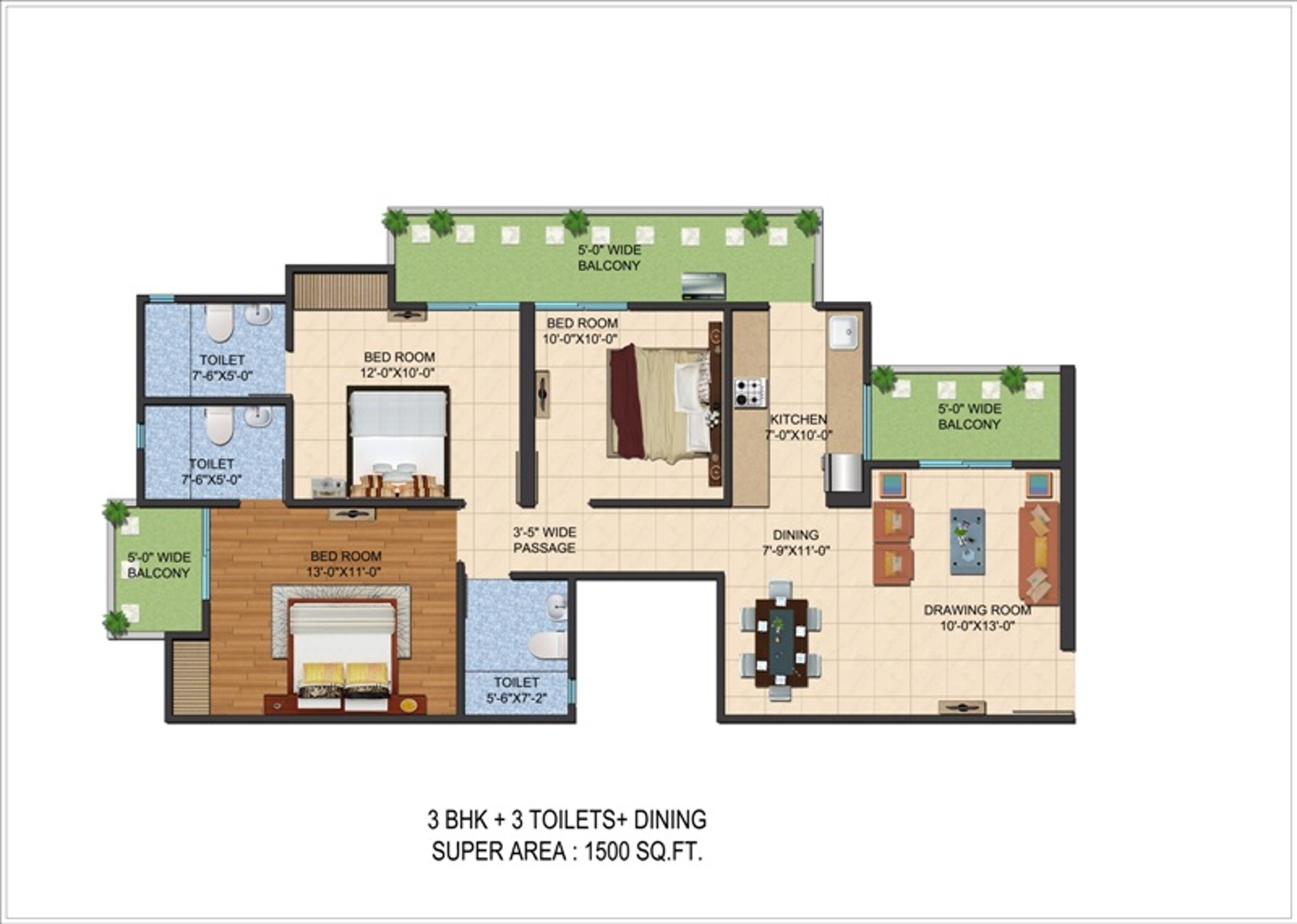 100 Floor Plans 1500 Sq Ft Small Low Cost
