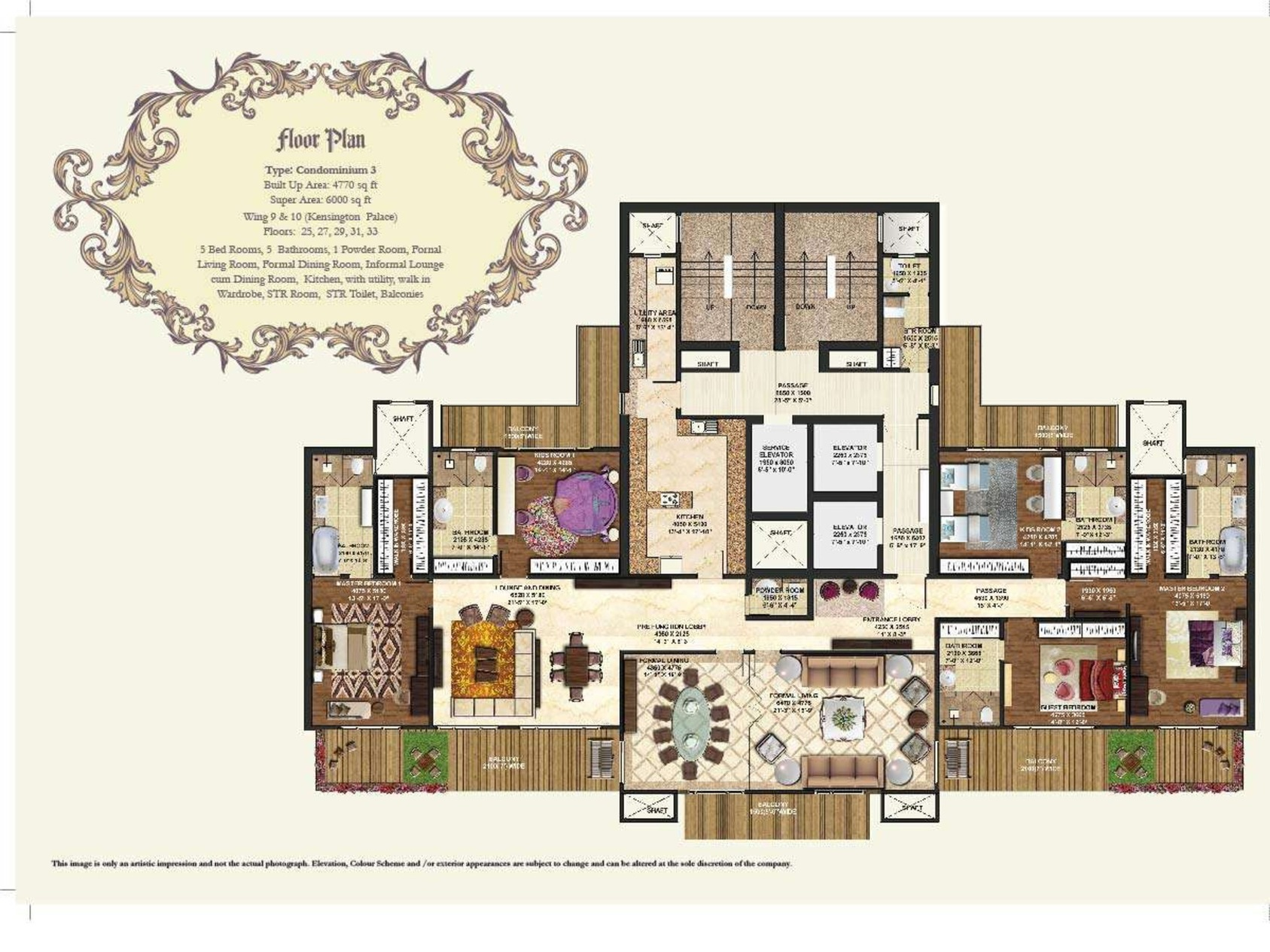 100 6000 Sq Ft House Plans 4 Bedroom House Plans In