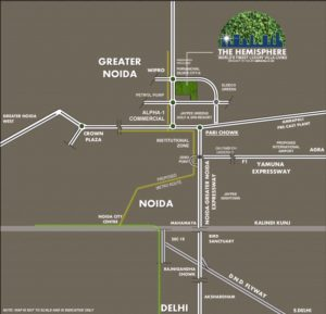 Amrapali The Hemisphere, Greater Noida